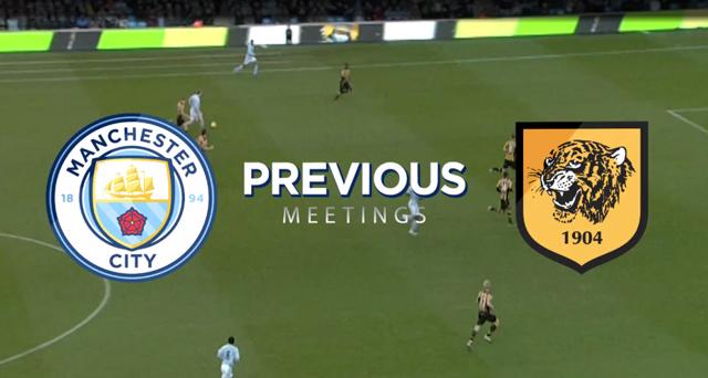 PREVIOUS MEETING: Manchester City v Hull City