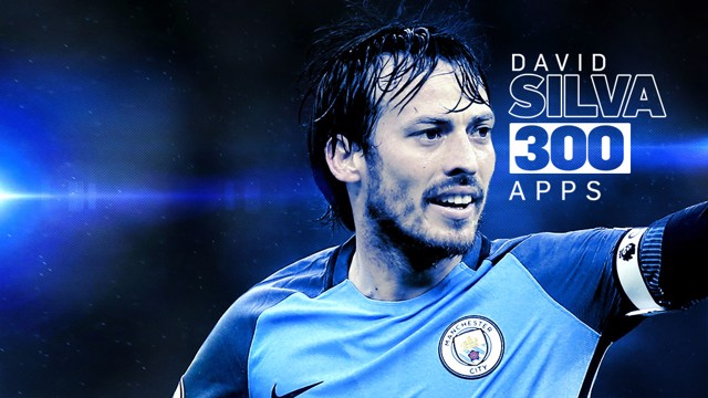 THE MAGICIAN: David Silva played his 300th game for the Club against Hull City at the Etihad Stadium.