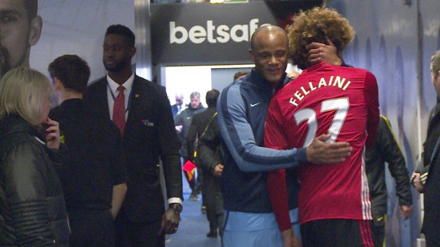 TUNNEL CAM: Behind-the-scenes at the Manchester derby.