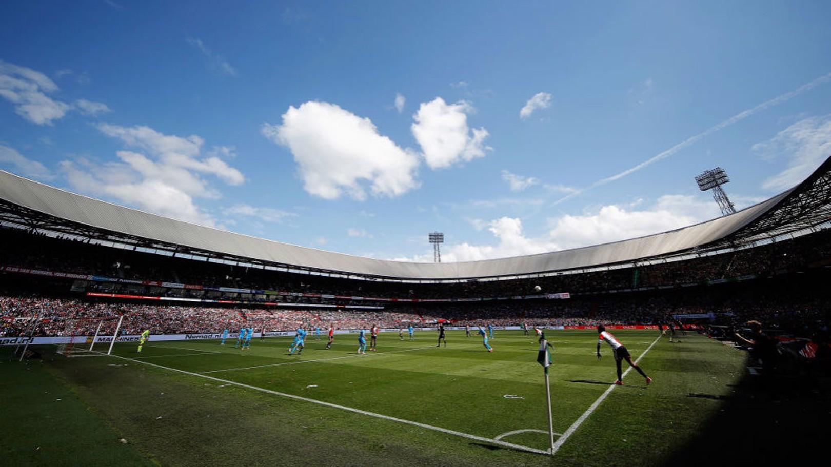 De Kuip, hogar del Feyenoord.