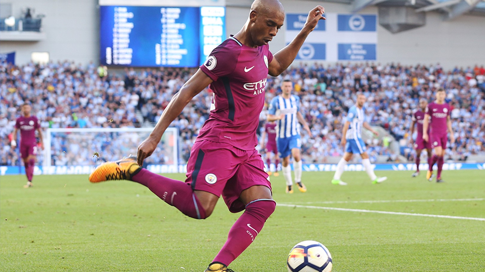 FERNANDINHO: Believes new signings will have a major impact