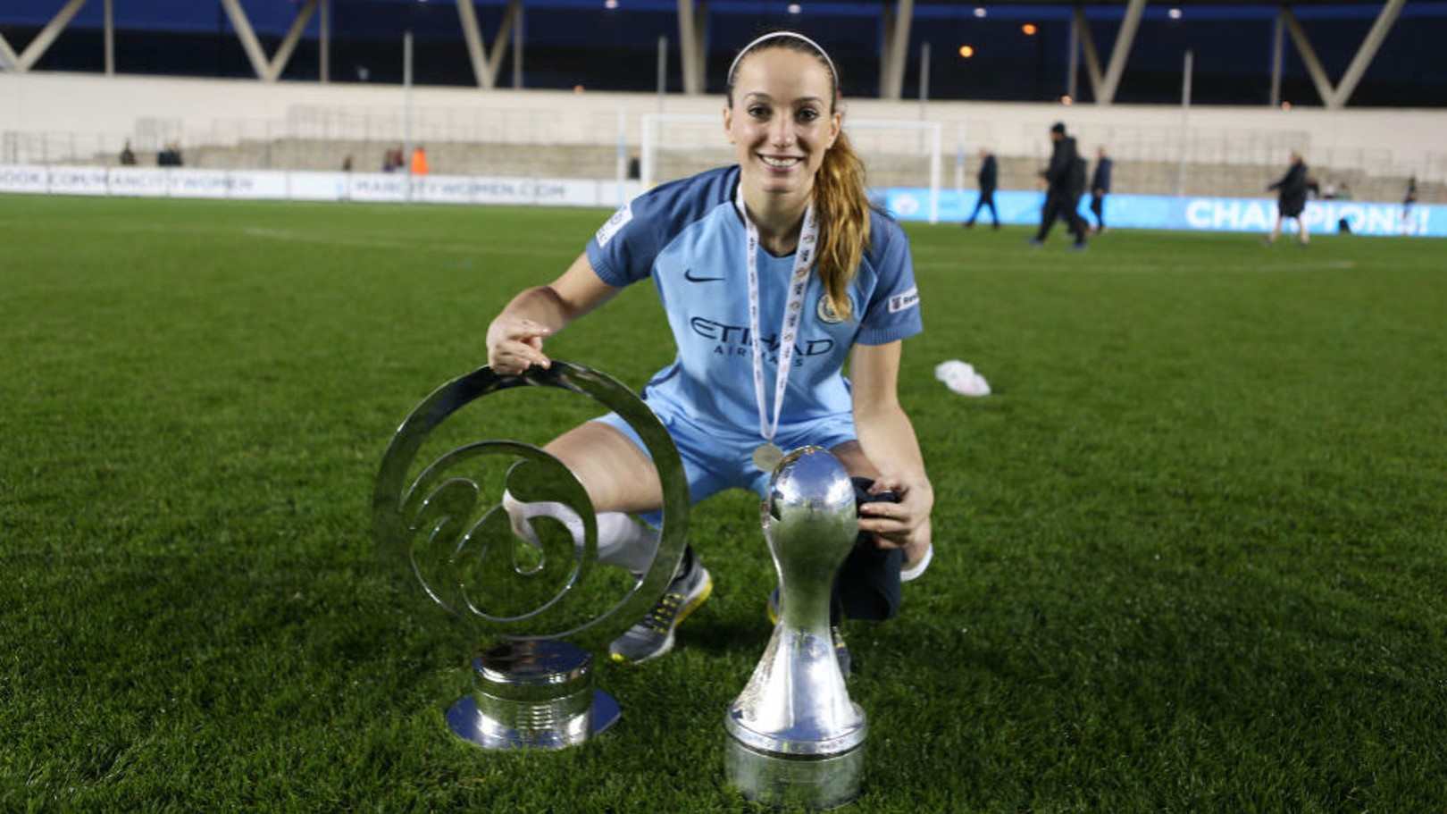 DEPARTING: Kosse Asllani has left Manchester City.