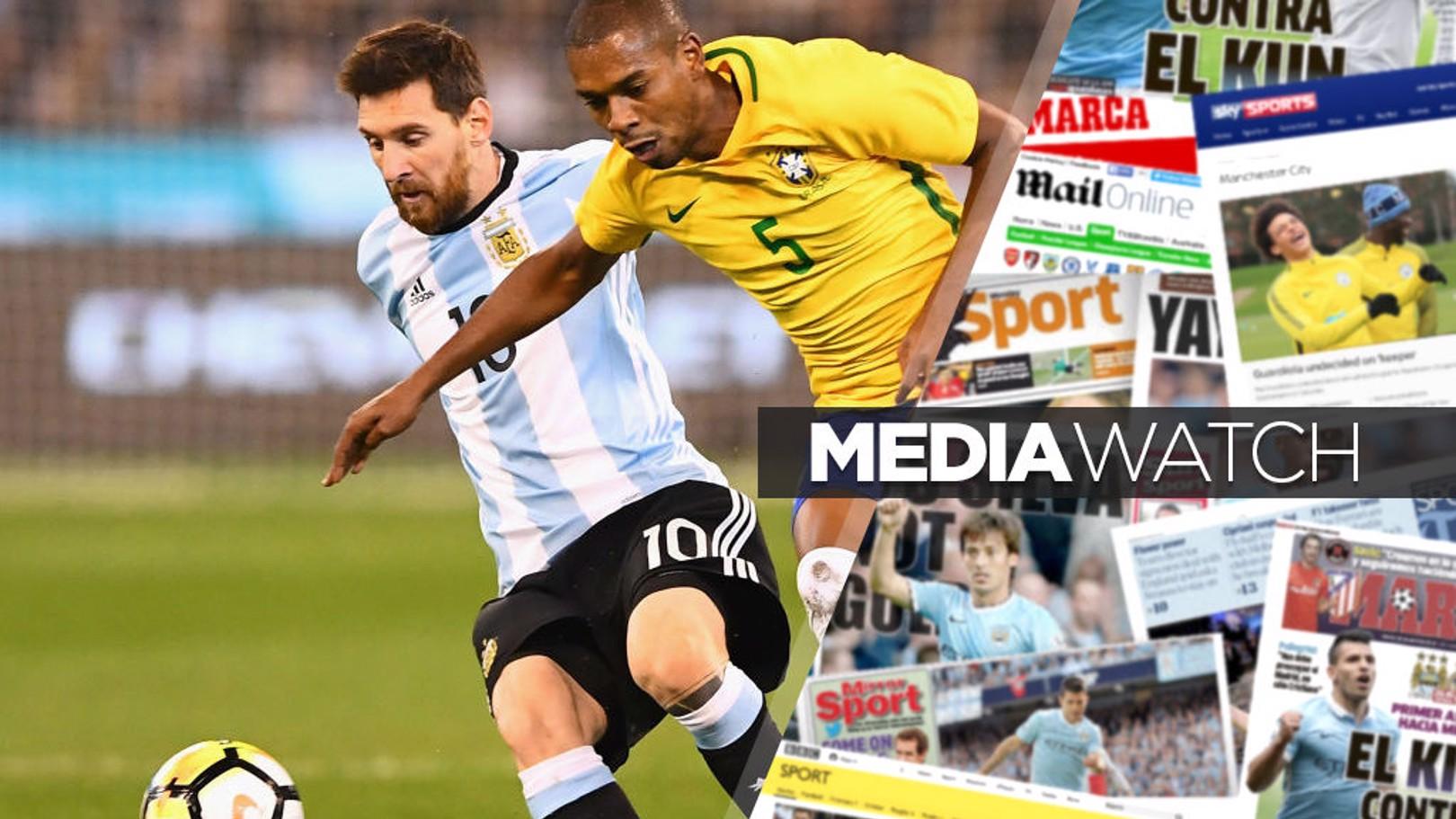 RUMOURED: Lionel Messi.
