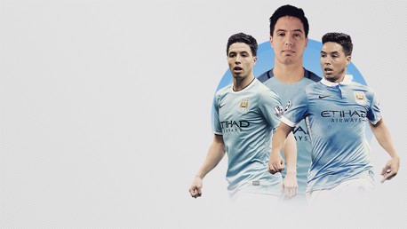 THANK YOU: Samir Nasri has left Manchester City.