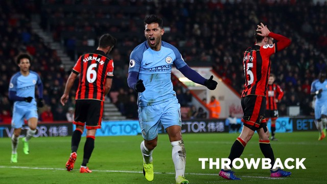 THROWBACK: Bournemouth v City 2016