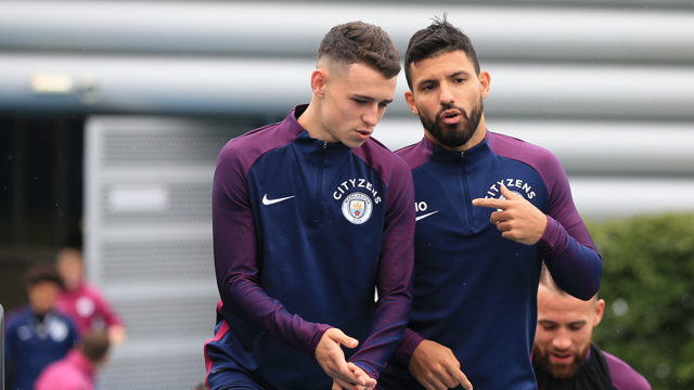 EYES ON BRIGHTON: City are preparing for their Premier League opener away at Brighton on Saturday.