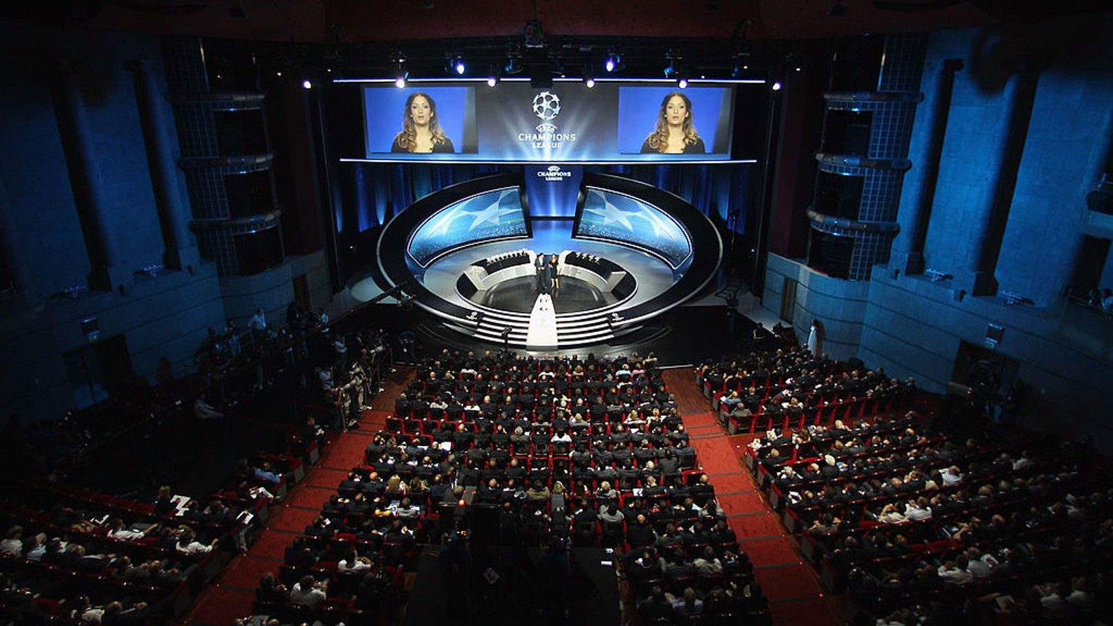 GRIMALDI FORUM: Venue for the 2017/18 Champions League group stage draw.