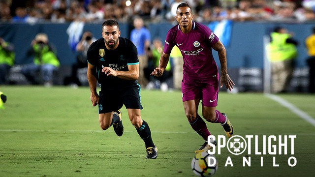 SPOTLIGHT: Danilo v Real Madrid.