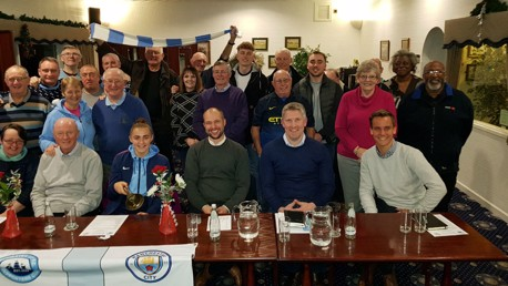City visit Official Supporters Club Flixton branch