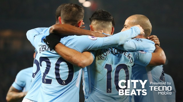 CITY BEATS: City's recent victory over Bournemouth, set to music