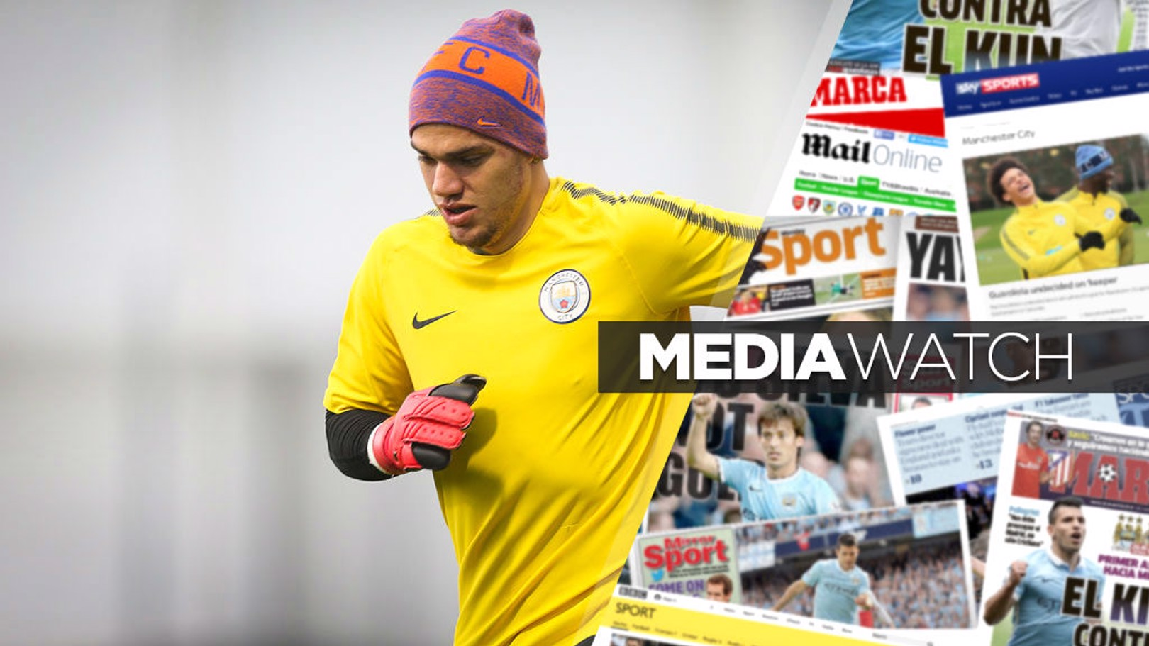 BIG GAME: Ederson is aware of the importance of the Manchester derby.