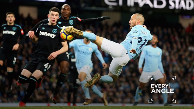 Every Angle: Silva v West Ham