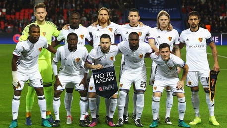 OPPOSITION: City will face FC Basel in the last 16 of the Champions League.