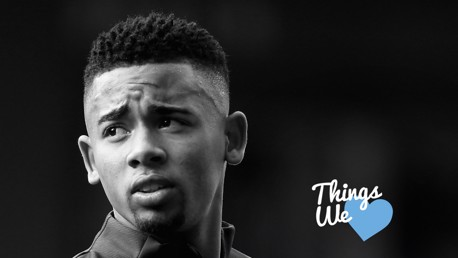 BRAZILIAN MAGIC: In our latest edition of Things We Love, Gabriel Jesus talks us through his life...