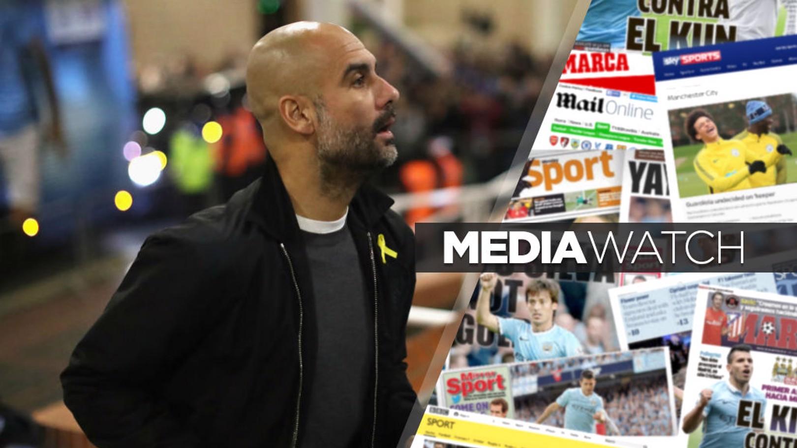 الصحف والمواقع تشيد بمسيرة مانشستر سيتي هذا الموسم.