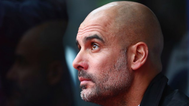 PEP: Watch Guardiola's Crystal Palace post-match reaction.