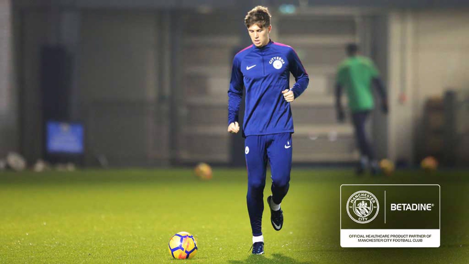 ROAD TO RECOVERY: John Stones