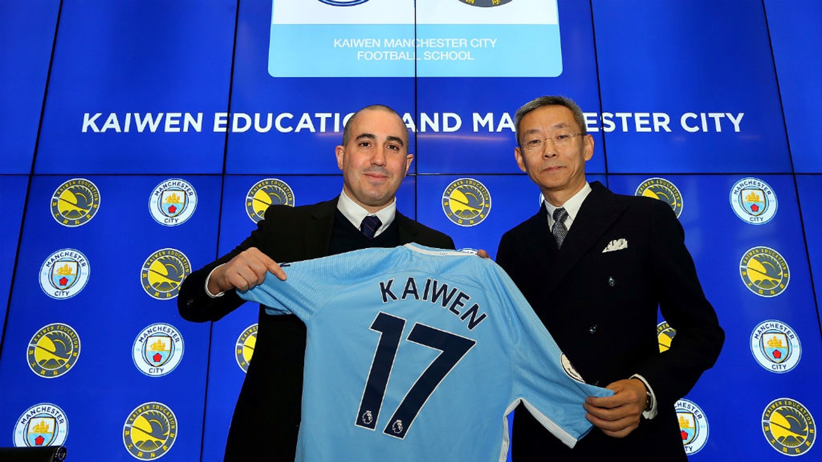 EDUCATION PROGRAMME: The Kaiwen Manchester City Football School.