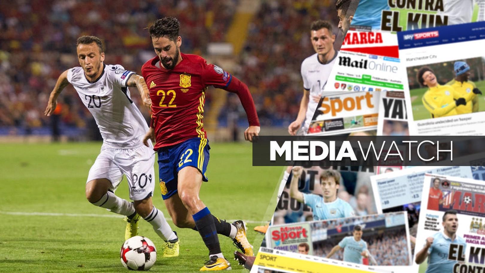 صحف تربط مانشستر سيتي بلاعب وسط ريال مدريد.