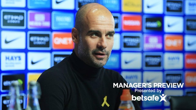 PREVIEW: Pep Guardiola addresses the media ahead of West Ham.