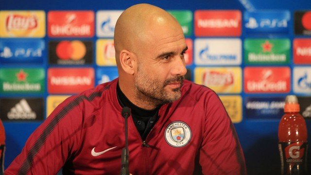 SHAKHTAR DONETSK V CITY: Pep Guardiola press conference