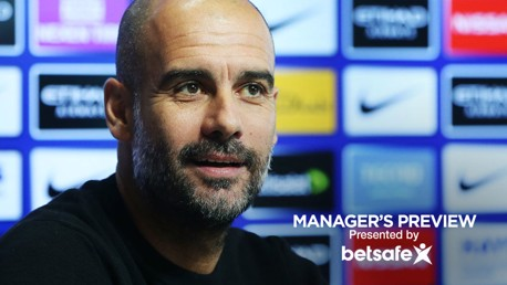 PRESS CONFERENCE: Pep Guardiola delivers his Manchester derby team news.