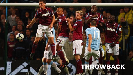 THROWBACK: City v West Ham September 2009