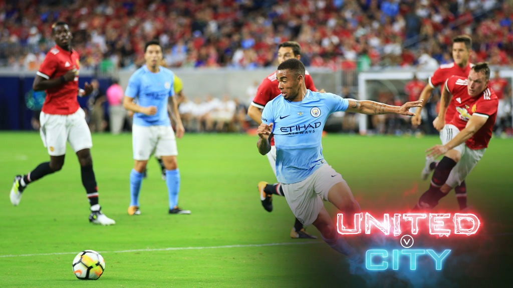 Image result for manchester city vs manchester united 2018