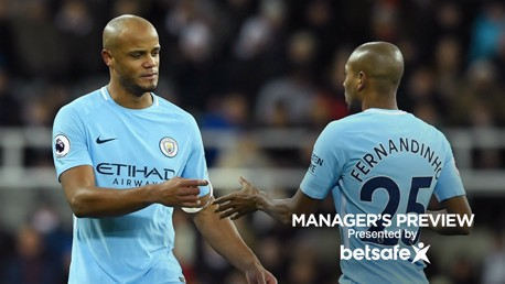 BOOST: Vincent Kompany may not be out for long, Pep Guardiola reveals