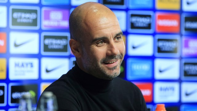PEP PRESSER: City v West Ham