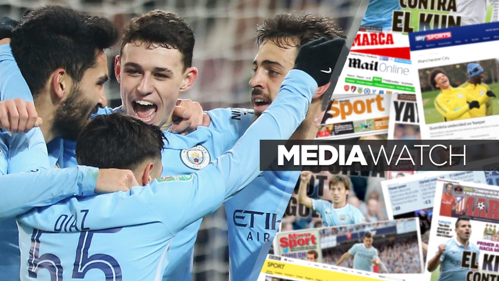 YOUTHFUL EXUBERANCE: City's young charges impressed in the Carabao Cup triumph over Leicester