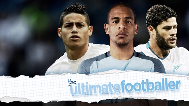 ULTIMATE FOOTBALLER: Fernandinho, Hulk and James Rodriguez make up Fernando's top player.