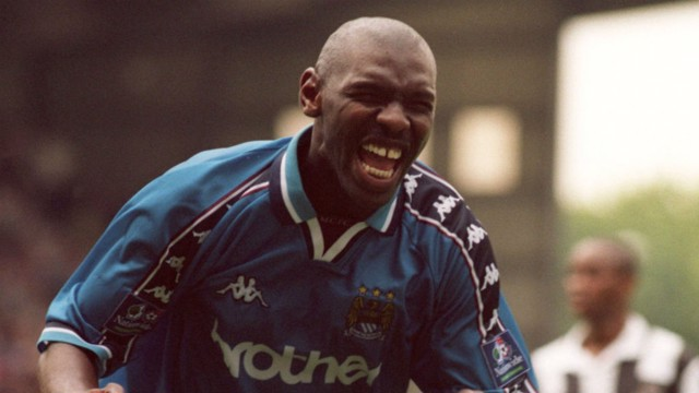 GOATER: City's cult hero celebrates a strike against Notts County