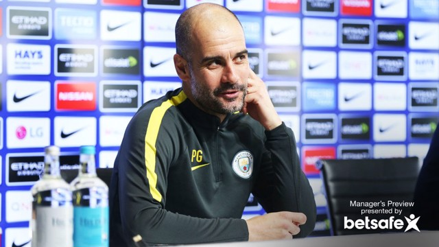 TEST: Pep Guardiola is expecting a tough test against Bournemouth.