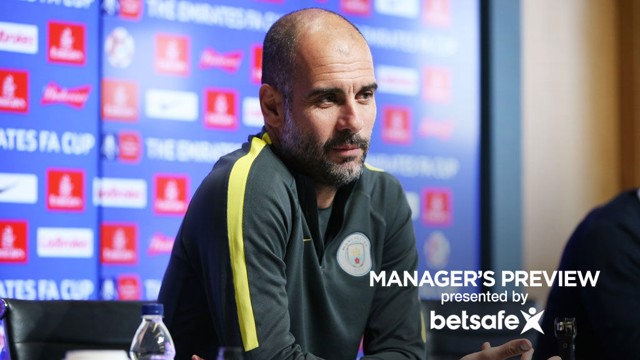PREVIEW: Pep Guardiola spoke to the media ahead of Man City's FA Cup replay against Huddersfield Town.
