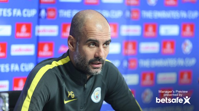 PREVIEW: Watch Pep Guardiola's Huddersfield preview.