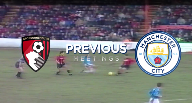 PREVIOUS MEETINGS: Bournemouth v City