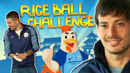 RICE BALL CHALLENGE: City players put to the test