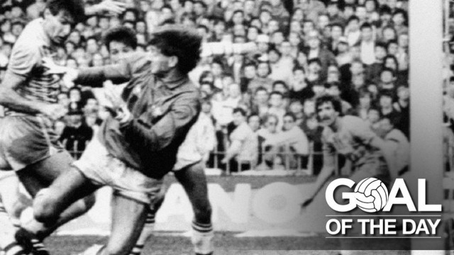 GOAL: Smith gave City in the 2-0 win over Huddersfield back in 1985