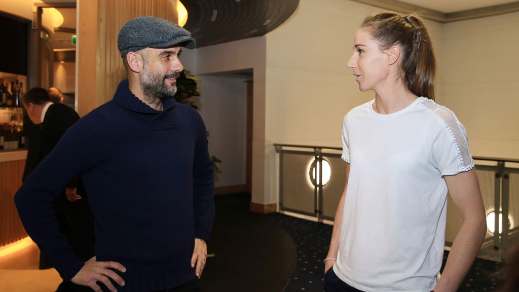 Guardiola surprises supporters at annual dinner