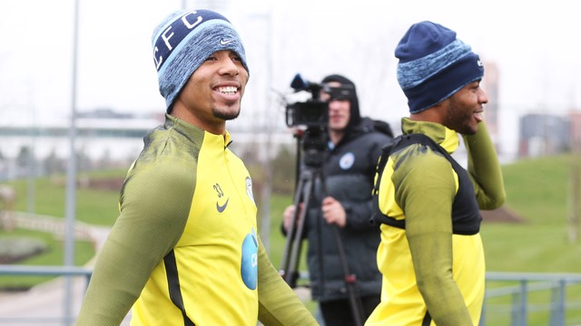 PREPARED: City players are readying themselves for Monday's long trip to Bournemouth