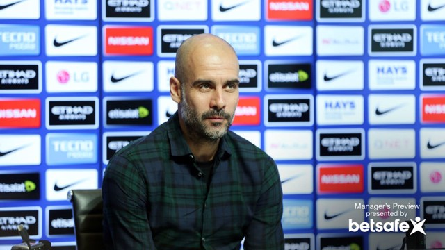 TOFFEE TALK: Pep Guardiola confirmed Vincent Kompany and Kevin De Bruyne are fit to face Everton.
