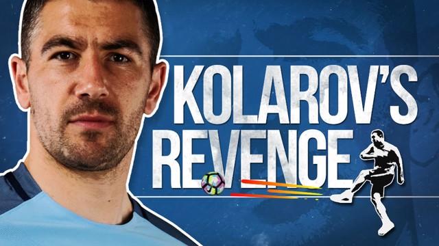 KOLAROV'S REVENGE: City's Serbian left-back gets his own back on CityTV