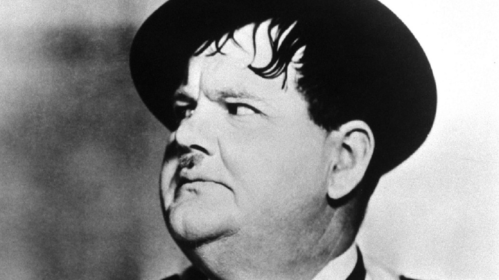 COMEDY LEGEND: Oliver Hardy