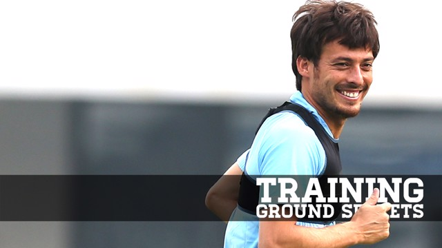SILVA: Our midfield maestro gives us the lowdown on City's training sessions