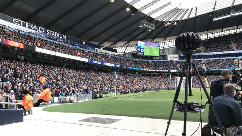 Man City launch new virtual reality fan experience