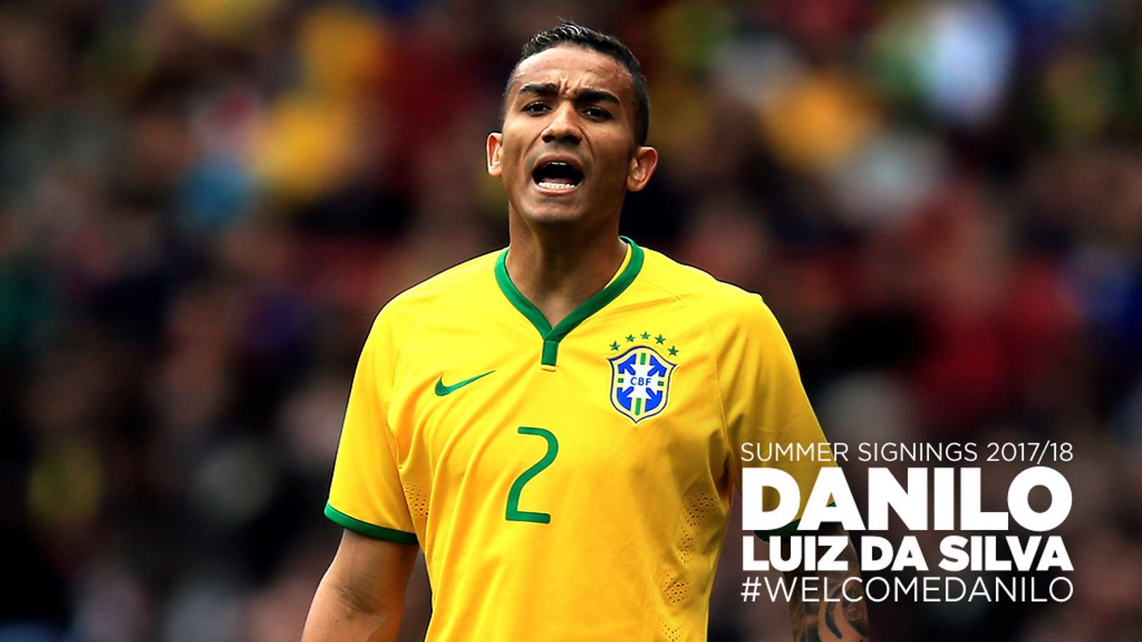 Danilo ao serviço do Brasil