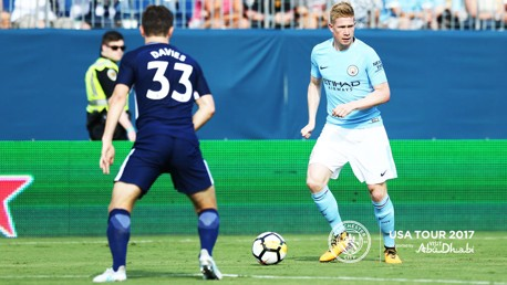 NASHVILLE: KDB impressed against Spurs
