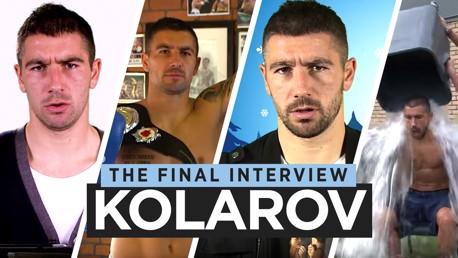 Aleks Kolarov: Wawancara perpisahan