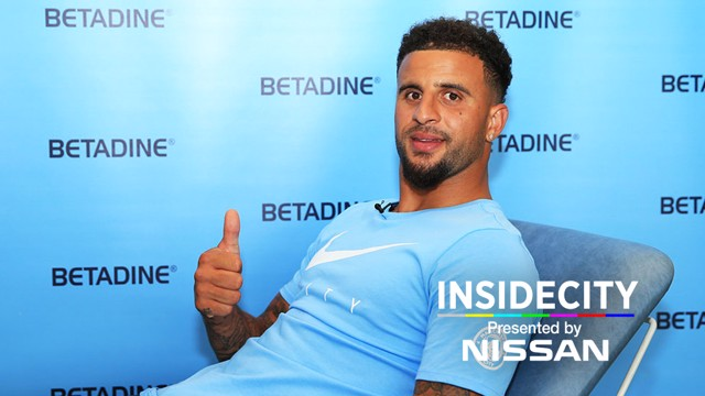 WELCOME KYLE: Go behind the scenes with Kyle Walker as he signs for City